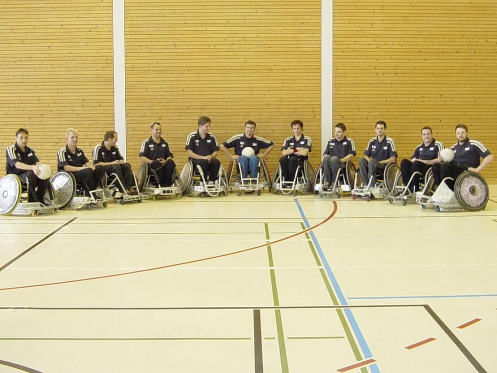 Rollstuhl-Rugby Nationalmannschaft